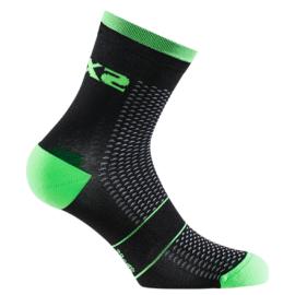 Носки SIXS RUN S Black-green