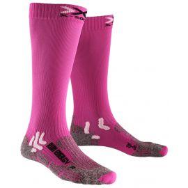 Термоноски женские X-SOCKS RUN ENERGIZER LADY Flamingo Pink/Pearl Grey