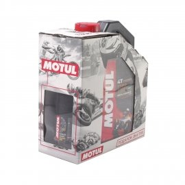 Моторное масло Motul 7100 10W40 4л + Смазка цепи Motul C4 Chain Lube Factory Line 0,1л