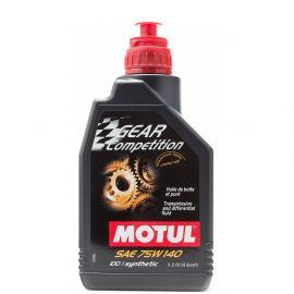 Масло трансмиссионое Motul Gear Competition 75W140 1л