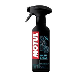 Полироль Motul  E1 Wash&Wax 0,4л