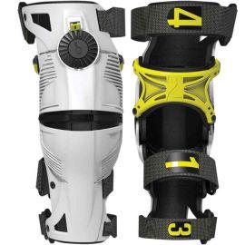 Наколенники MOBIUS X8 White/Yellow