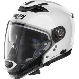 Шлем NOLAN N70-2 GT Classic N-Com Metal White