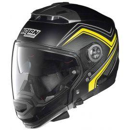 Мотошлем Nolan N44 Evo Como N-Com Flat Black/Yellow