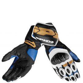 Мотоперчатки SPIDI CARBO 7 Blue/Gold