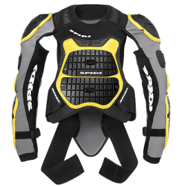 Моточерапаха SPIDI DEFENDER ARMOR 180-190 Black/Yellow