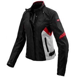 Мотокуртка женская SPIDI FLASH LADY H2OUT Black/Grey/Red