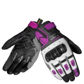 Мотоперчатки женские SPIDI G-CARBON LADY Black/Fuchsia
