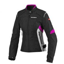 Мотокуртка женская SPIDI FLASH TEX LADY Black/Pink