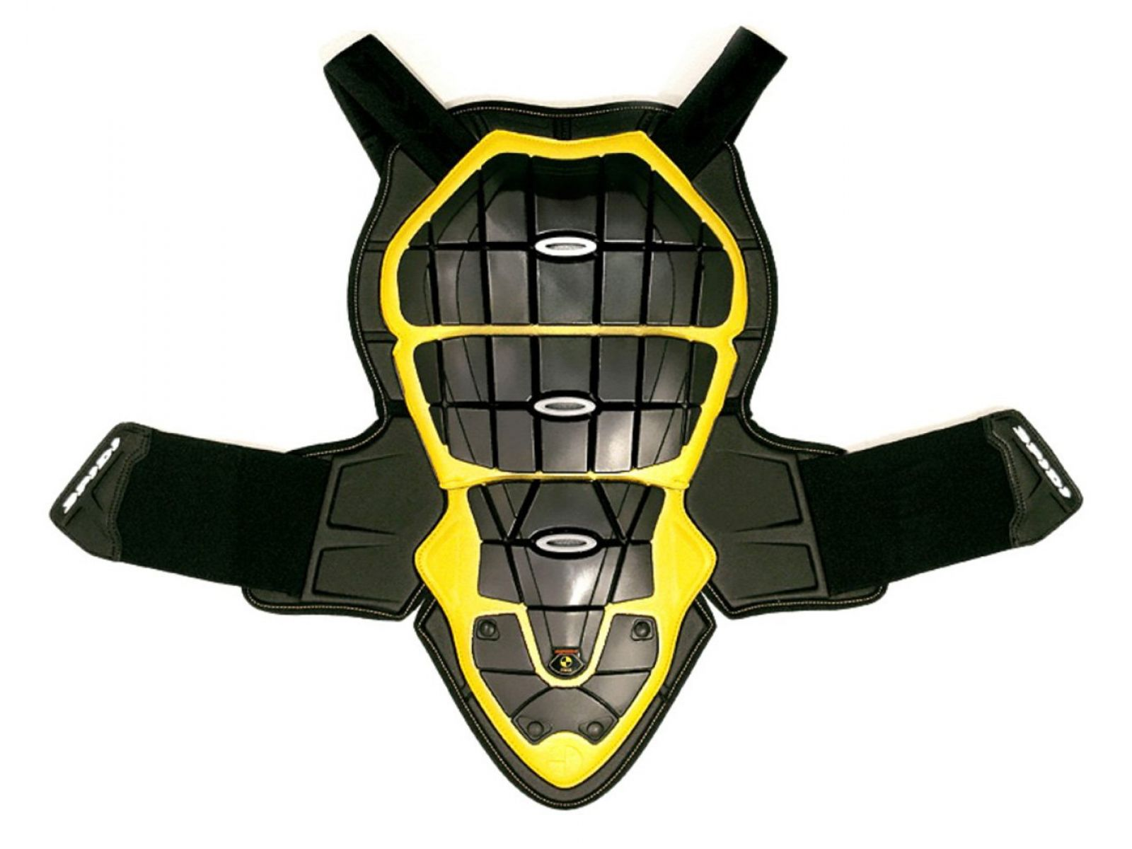Защита спины и груди SPIDI DEFENDER B&C 145-160 Black/Yellow