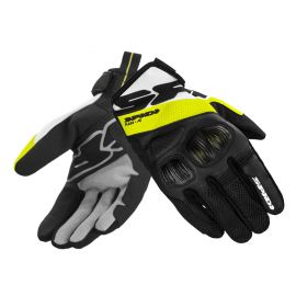 Перчатки SPIDI FLASH-R EVO Black/Yellow Fluo