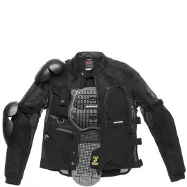 Мотокуртка Spidi Multitech Armor Evo Black