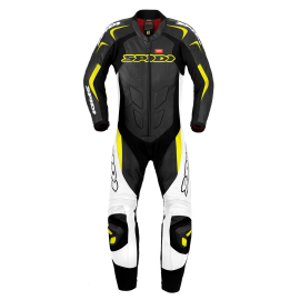 Мотокомбинезон SPIDI SUPERSPORT WIND PRO Black/Yellow/Fluo