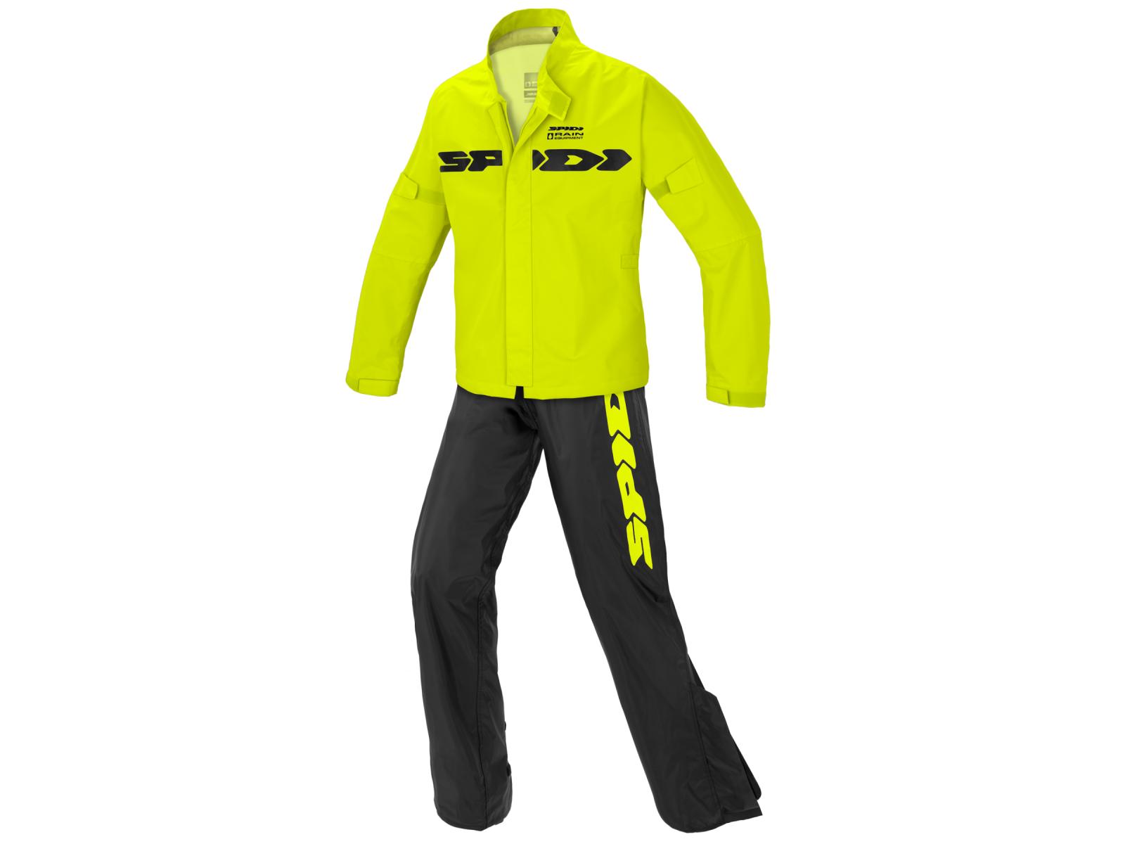 Комбинезон-дождевик SPIDI  SPORT RAIN Yellow Fluo