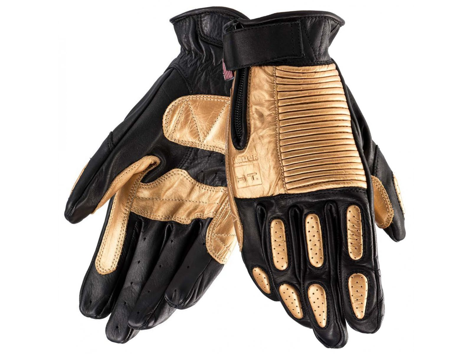 Мотоперчатки Blauer H.T. Banner Black Gold