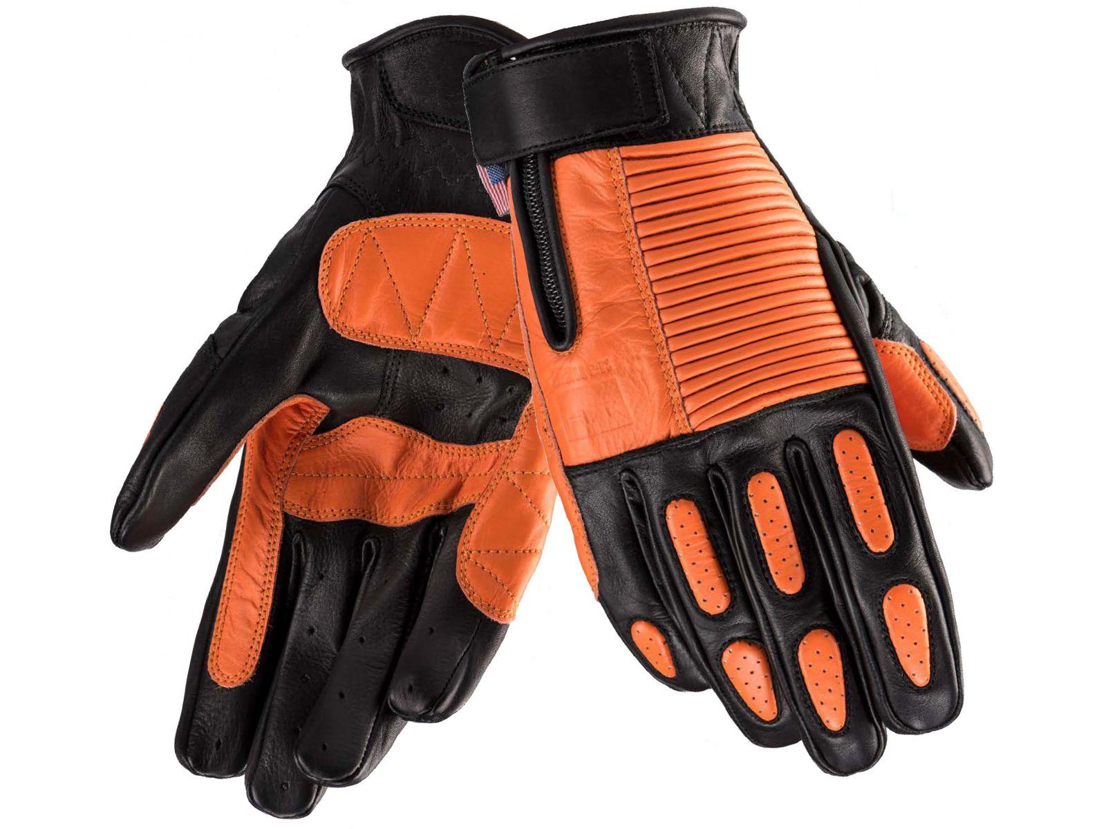 Мотоперчатки Blauer H.T. Banner Black Orange