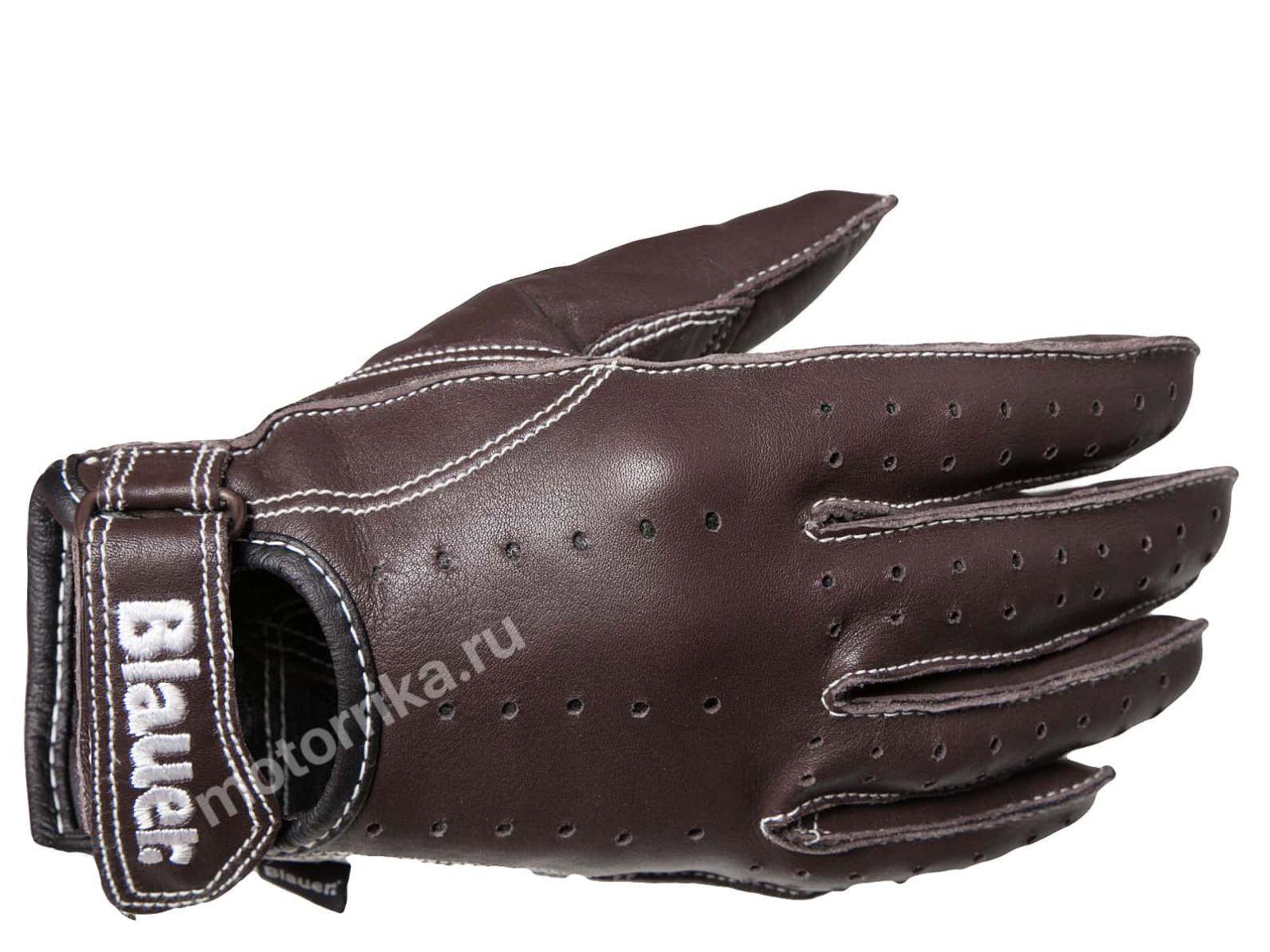 Мотоперчатки Blauer H.T. Cafe Race Brown