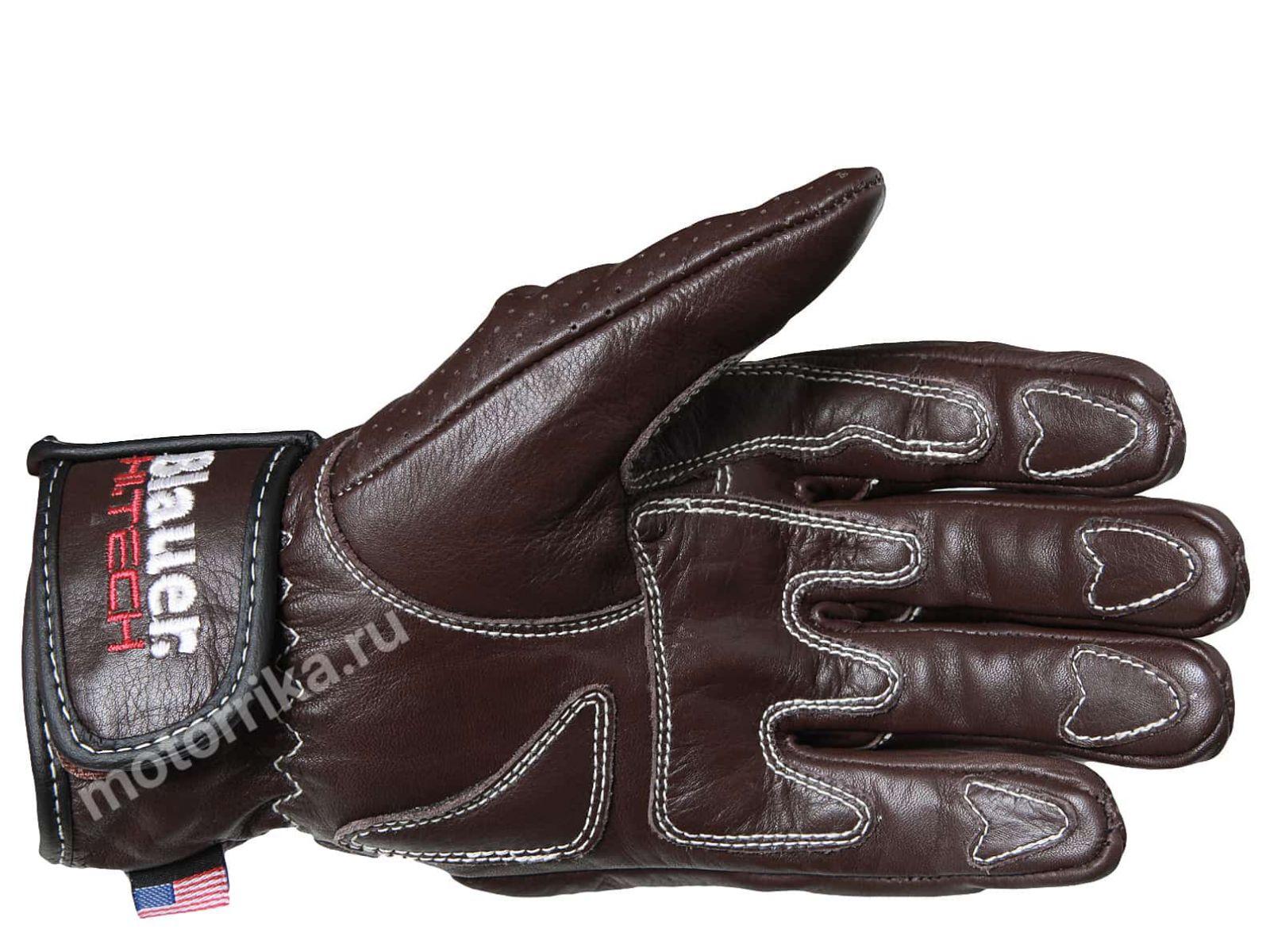 Мотоперчатки Blauer H.T. Hiroshi Brown