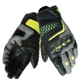 Мотоперчатки DAINESE CARBON 3 SHORT Black/Charcoal-Grey/Fluo-Yellow
