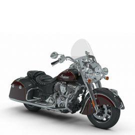 Мотоцикл INDIAN SPRINGFIELD - Steel Gray over Burgundy Metallic w/Gold Pin '2018