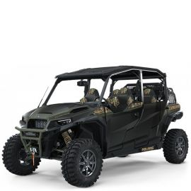 Мотовездеход Polaris General 4 1000 Pursuit Edition - Stealth Black 2021