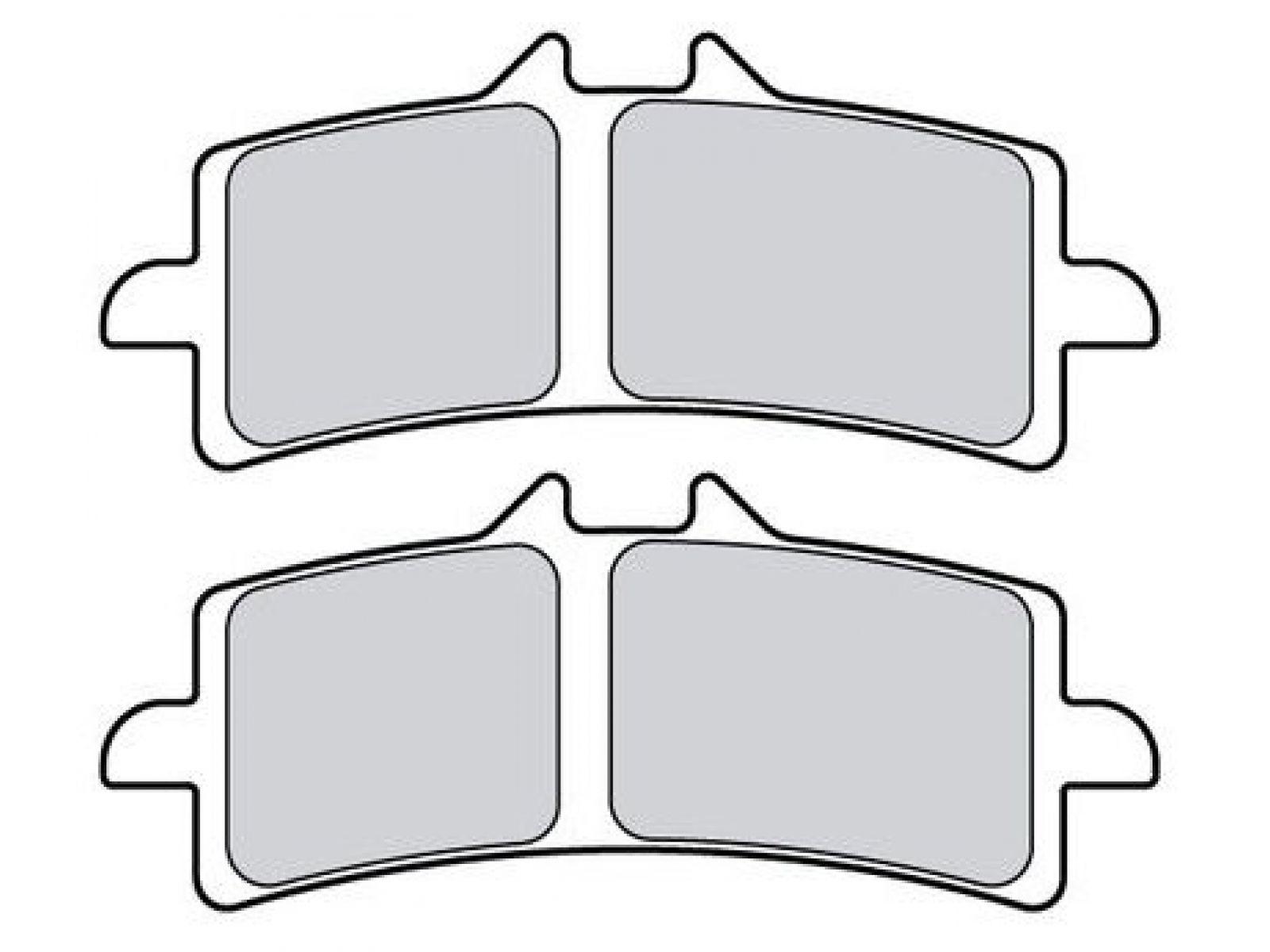 Колодки тормозные Brembo Z03 Endurance для суппортов M4, GP4-RX