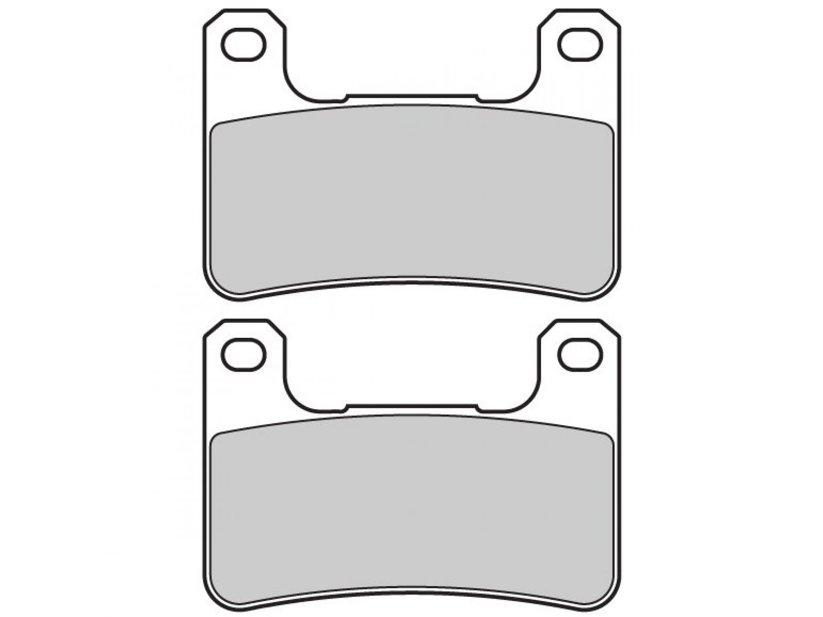 Колодки тормозные для Kawasaki Z1000 12-14, Z1000SX 11-13