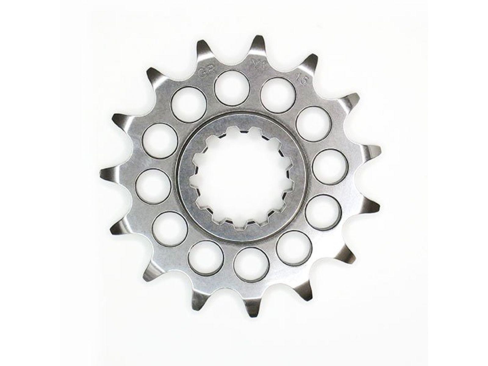 Звезда передняя GANDINI для Yamaha R1 98-18, R1M 16-18, Suzuki GSXR600 11-17, GSXR750 11-17