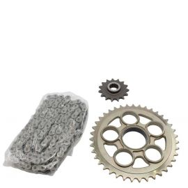 Комплект цепь + звезды для Ducati Multistrada 1200 10-15