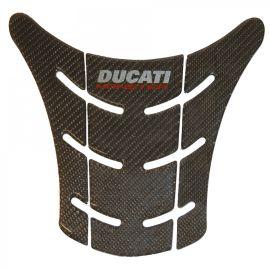 Наклейка на бензобак Ducati Carbon