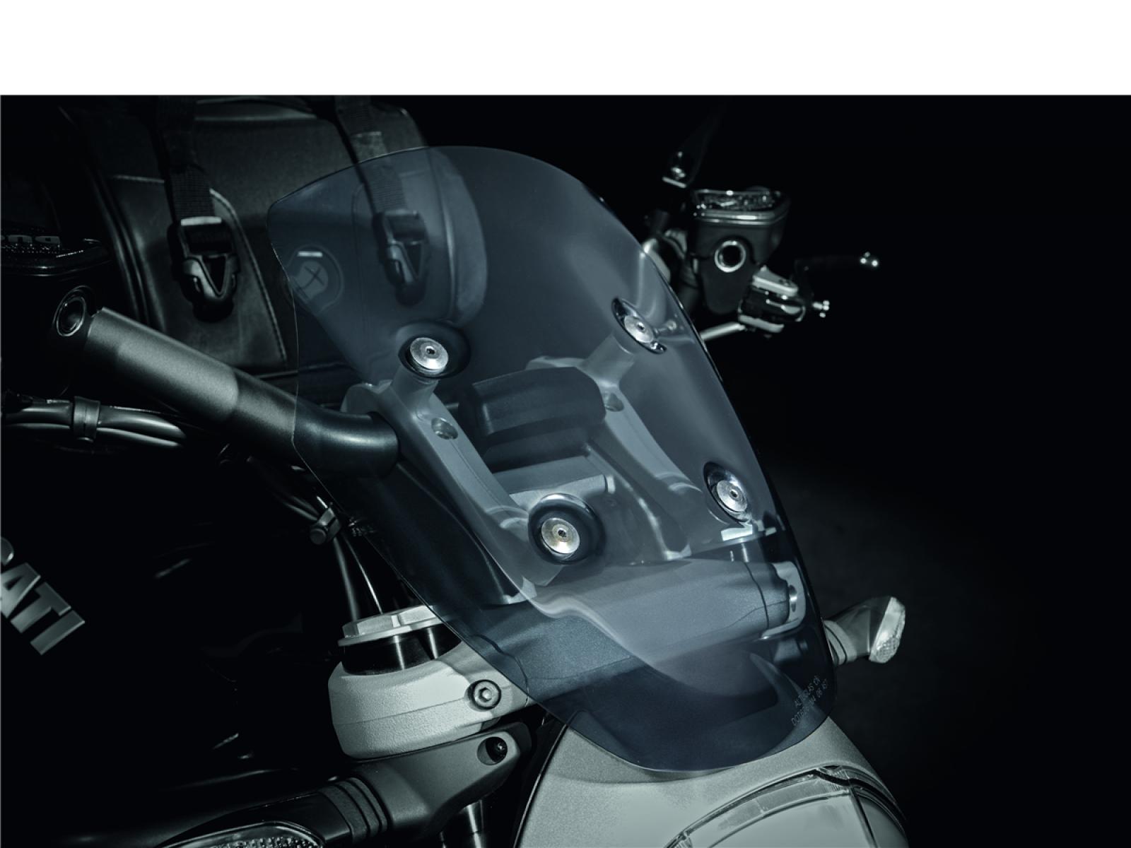 Стекло ветровое для Ducati XDiavel 16-17, XDiavel S 16-17