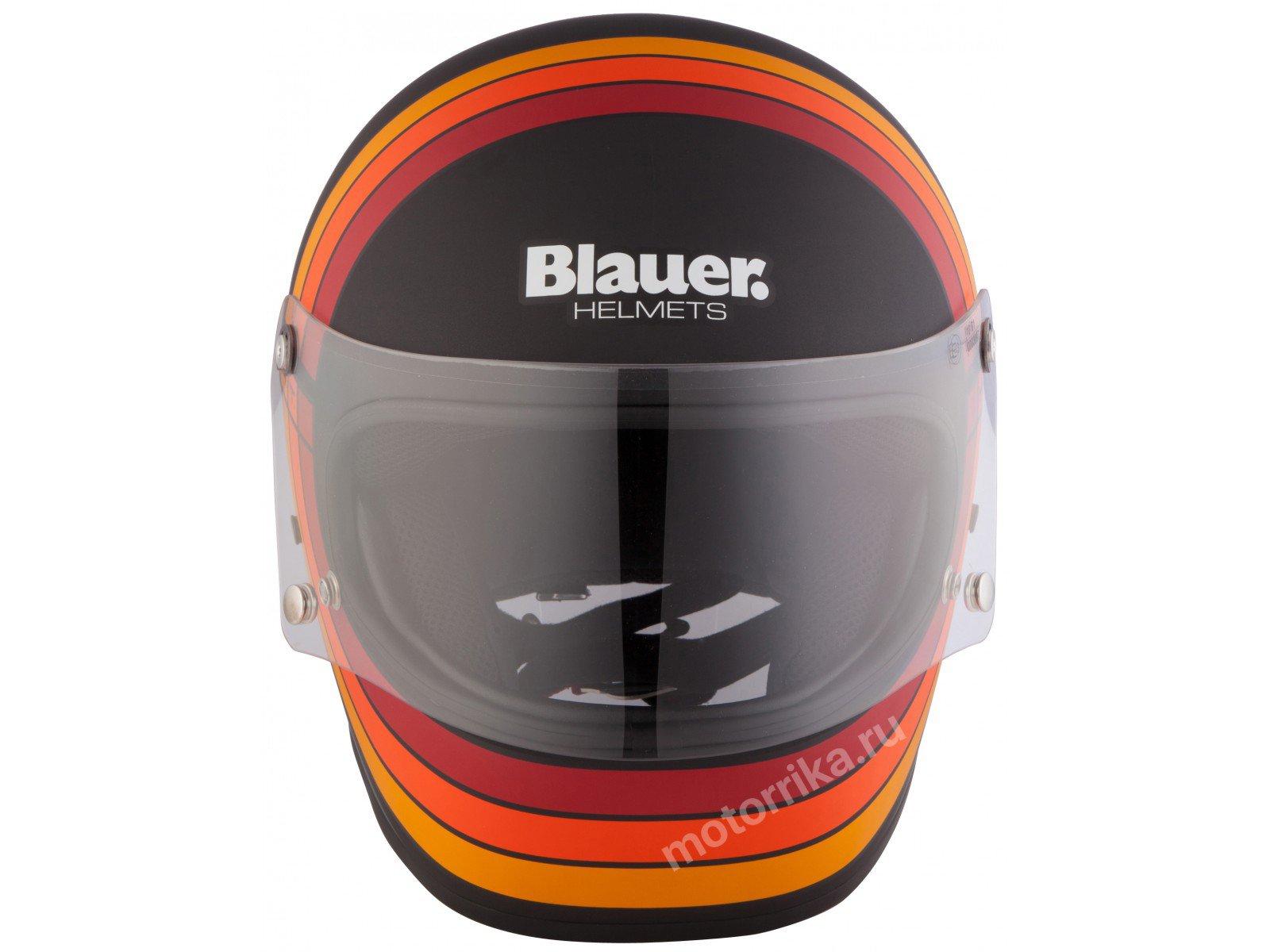 Мотошлем Blauer H.T. 80s Black Matt