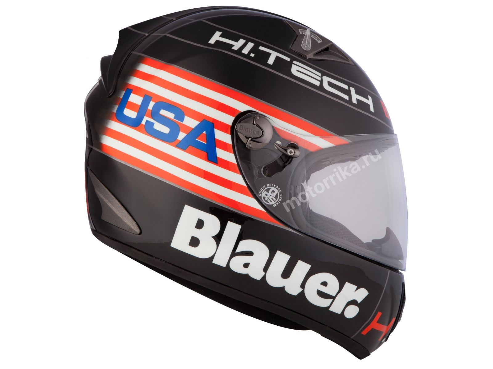 Мотошлем Blauer H.T. Force One Black USA