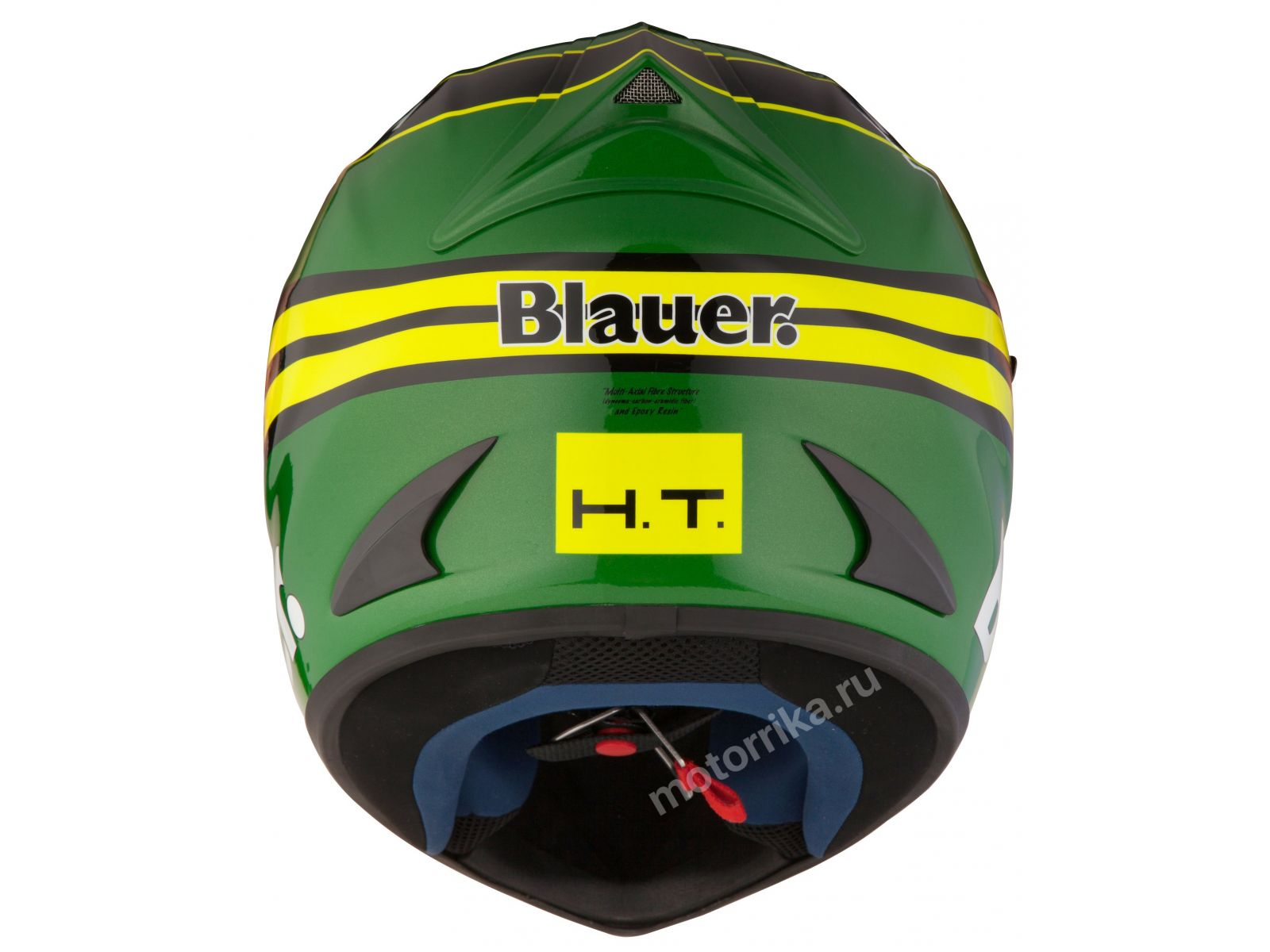 Мотошлем Blauer H.T. Force One Green