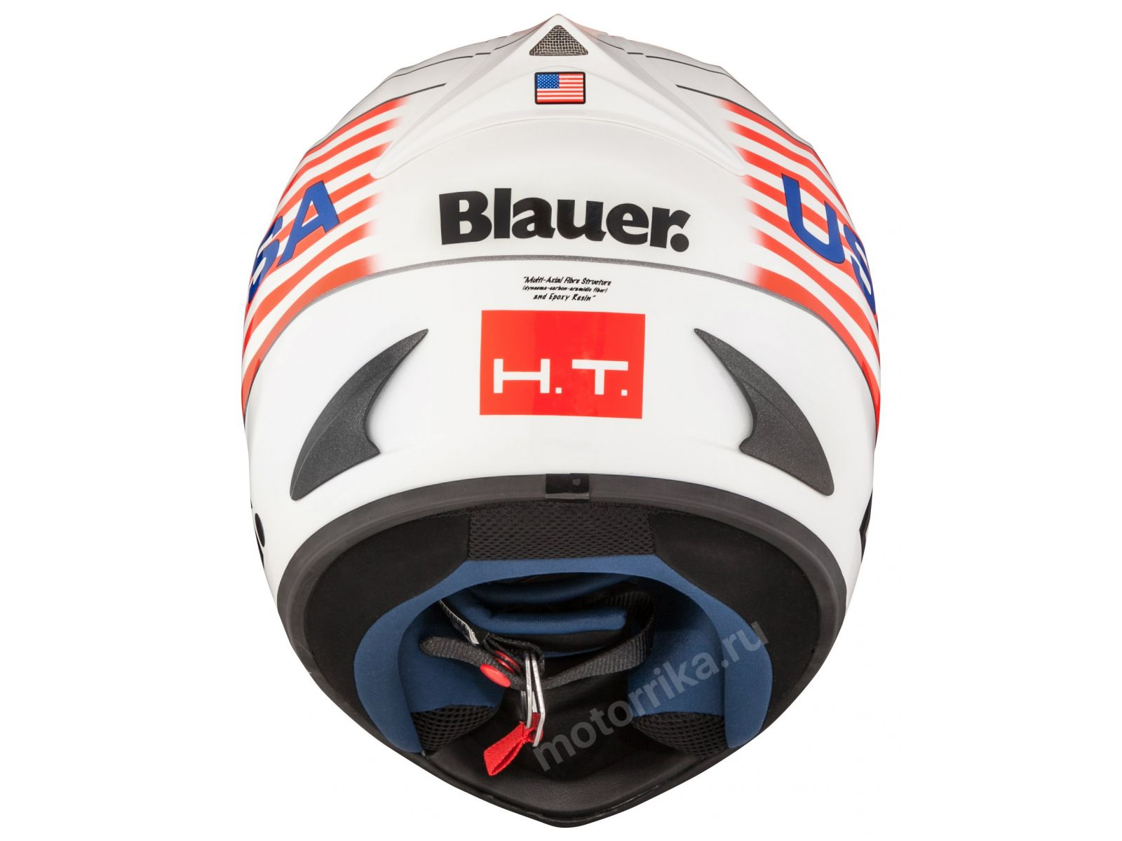 Мотошлем Blauer H.T. Force One White USA
