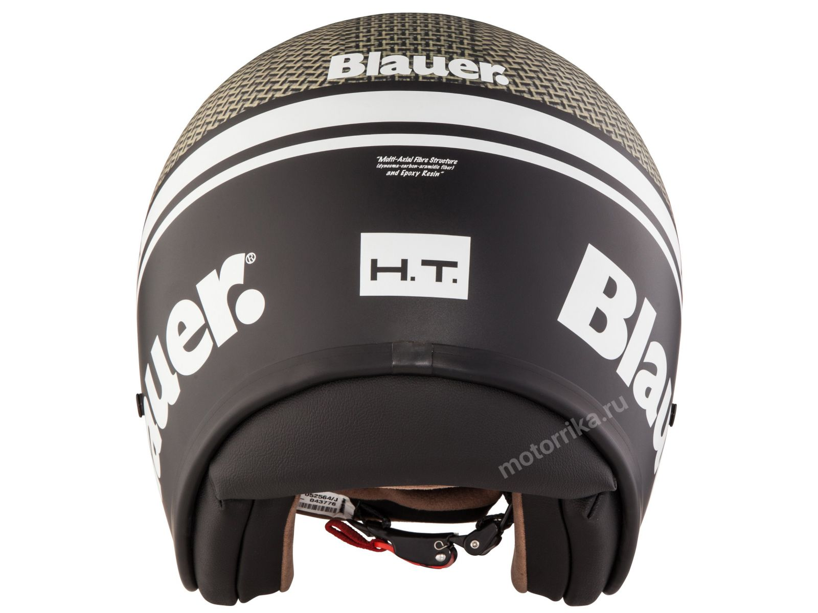Мотошлем Blauer H.T. Pilot Carbon Kevlar
