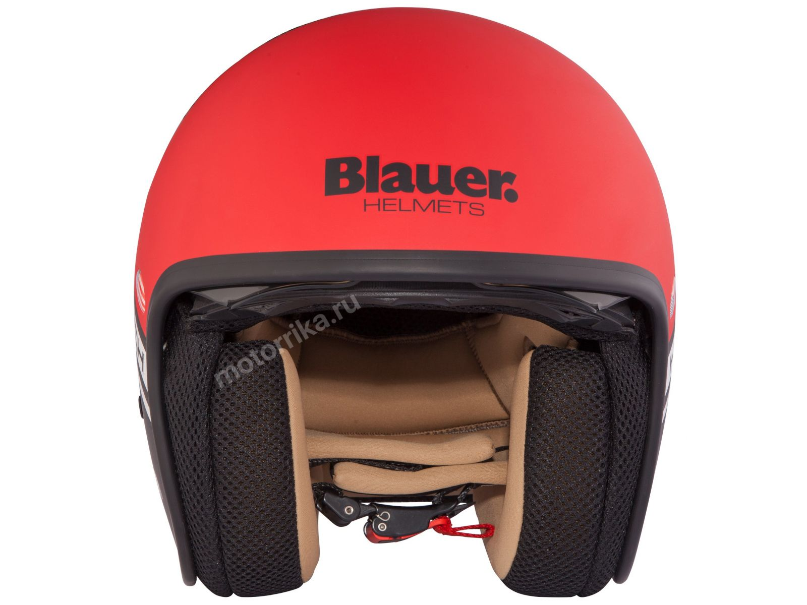 Мотошлем Blauer  H.T.Pilot Red