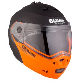 Мотошлем Blauer H.T. Sky Black / Orange