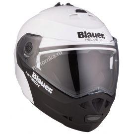 Мотошлем Blauer H.T. Sky White/Black Matt