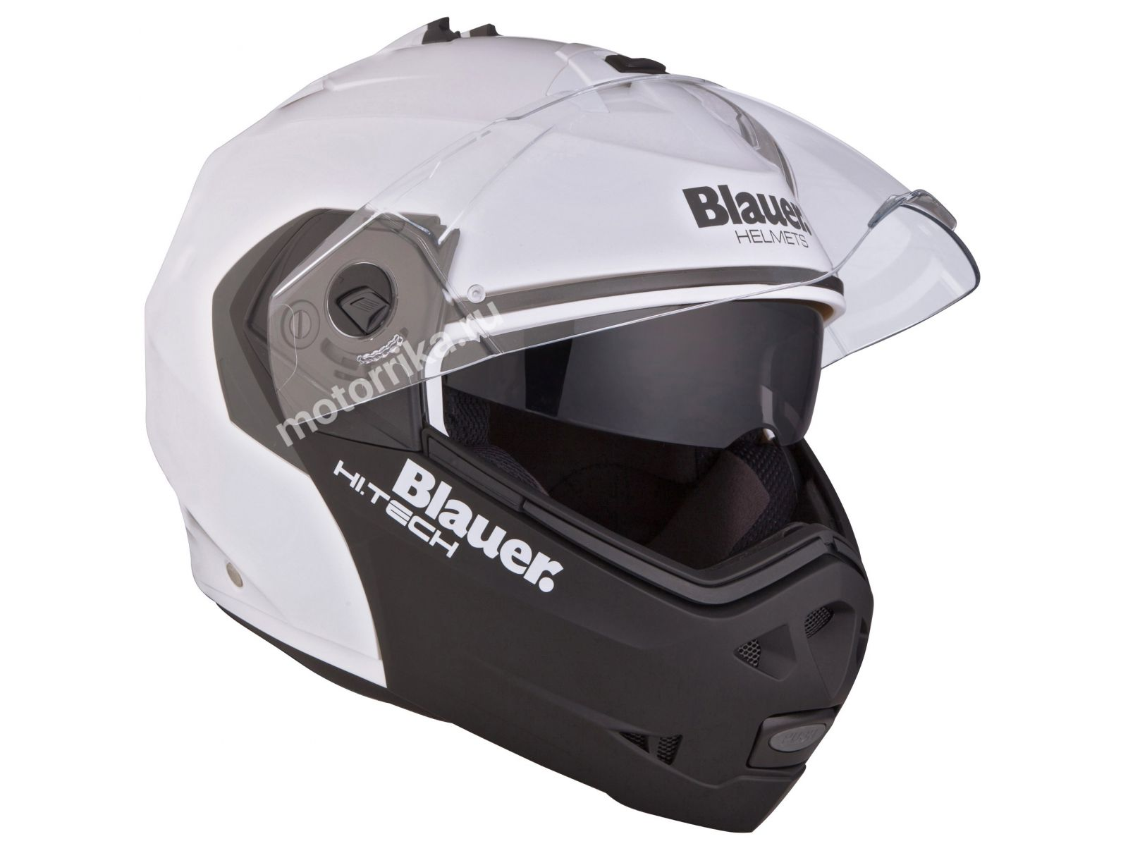 Мотошлем Blauer H.T. Sky White/Black Matt
