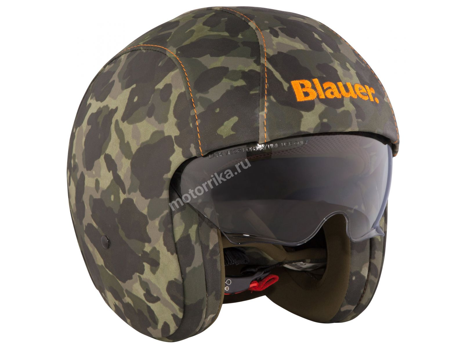 Мотошлем Blauer H.T. Pilot 1.1 Leather Camouflage
