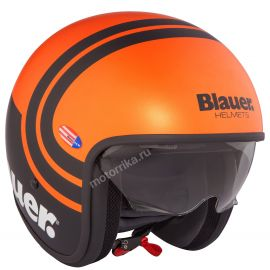 Мотошлем Blauer H.T. Pilot 2.0. Orange Matt