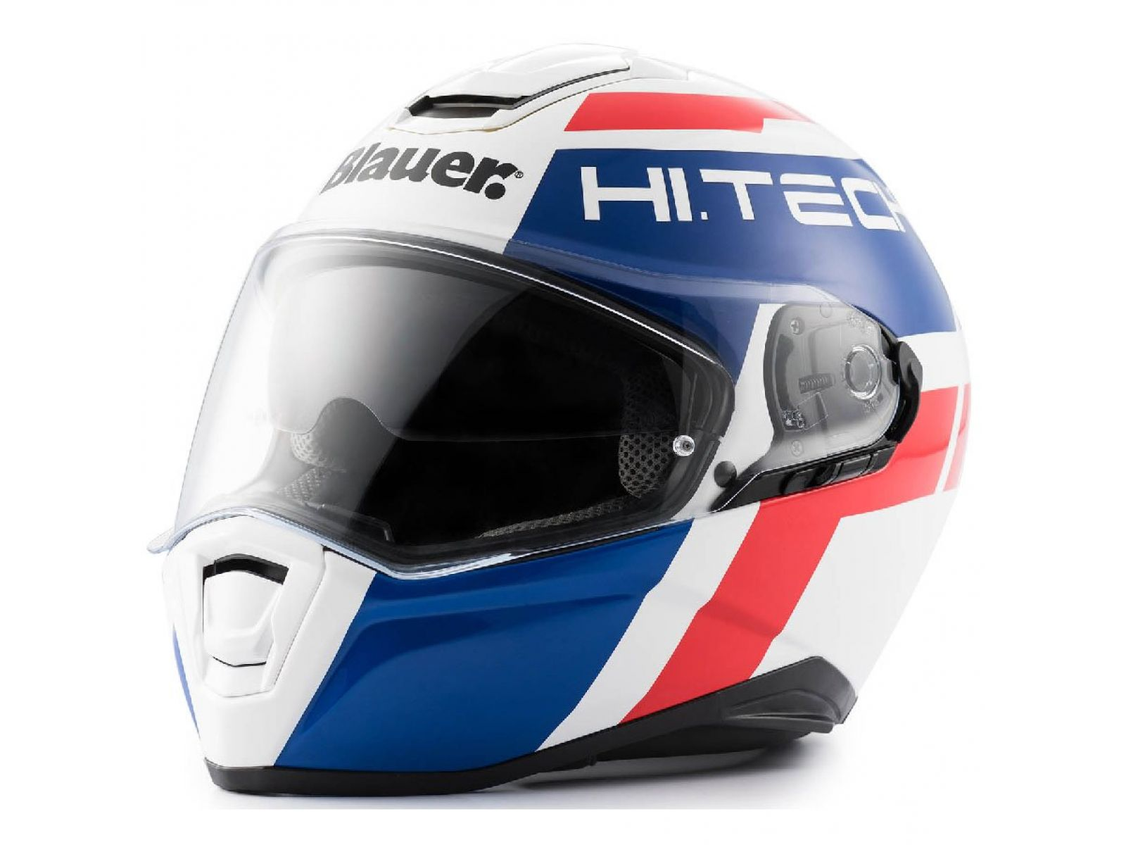 Мотошлем Blauer H.T. Force One 800 White Blue Red