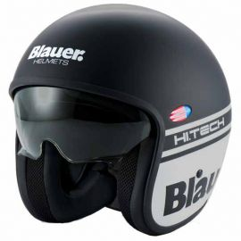 Мотошлем Blauer H.T. Pilot 1.1. Black Matt/Grey