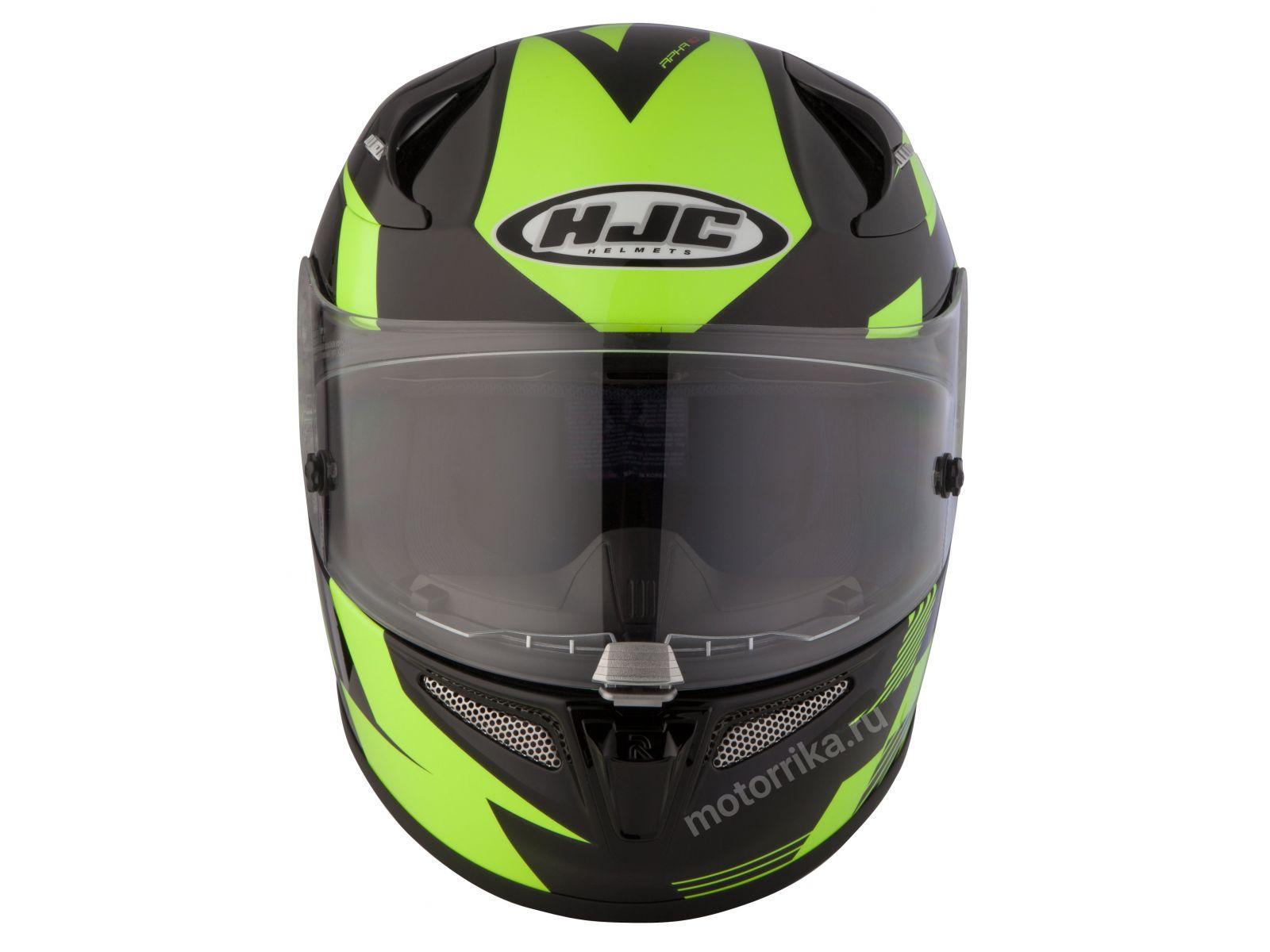 Мотошлем HJC RPHA10 Plus Tibueron Black/Green
