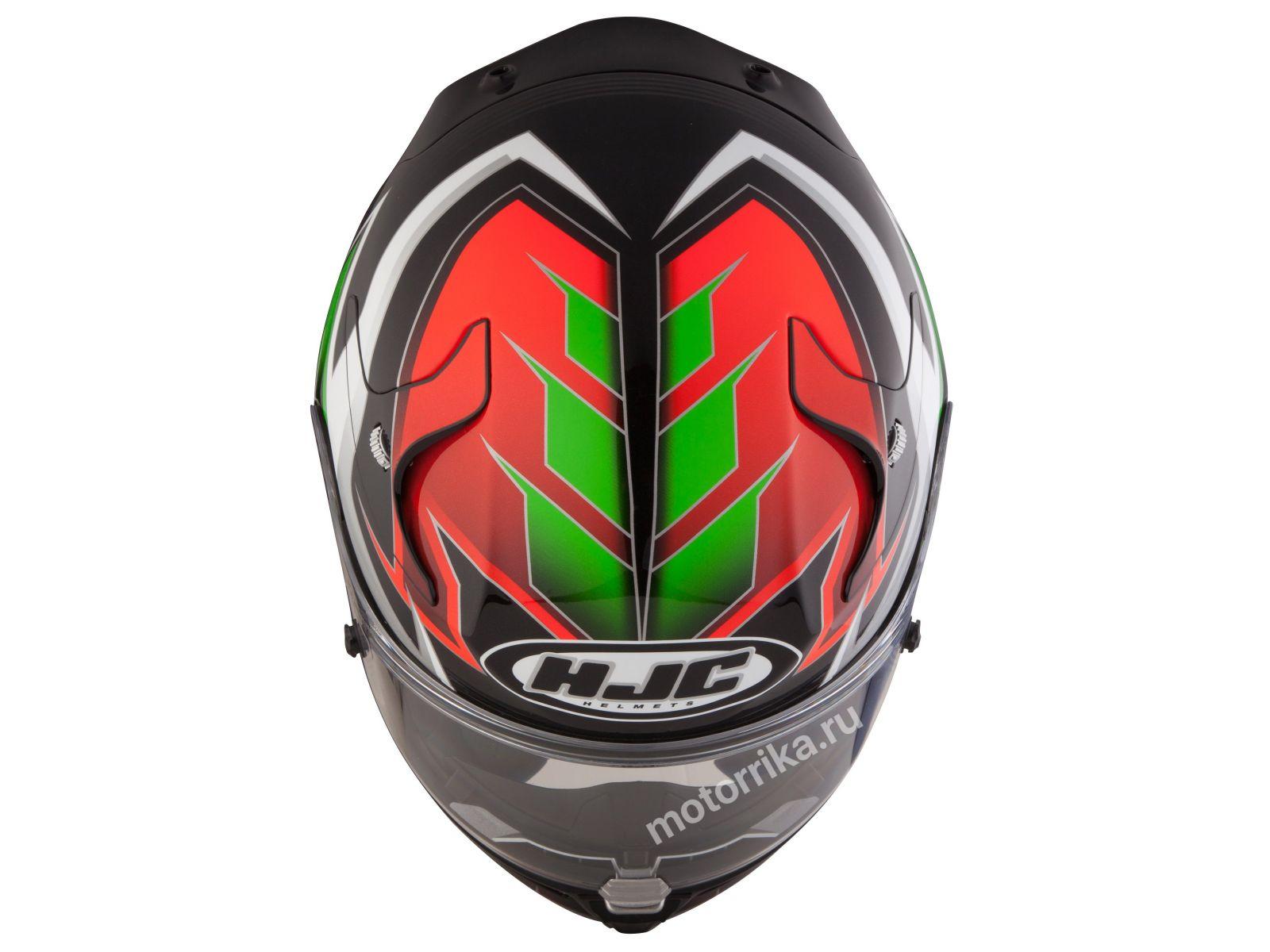 Мотошлем HJC RPHA10 Plus Elsword Red/Green