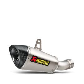 Глушитель AKRAPOVIC SLIP ON Titanium для Kawasaki ZX-10R 16-20