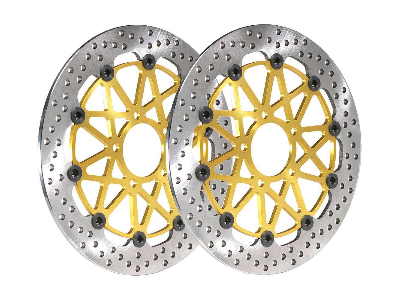 Диски тормозные передние Brembo Super Sport для Ducati 1098 07-11, Panigale 1199 12-15, Panigale 1299 12-15, Superleggera 14-16