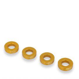 Шайбы для суппортов CNC RACING IFD01G Gold для Ducati и Aprilia