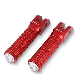 Подножки передние CNC RACING PC123R Red для Ducati